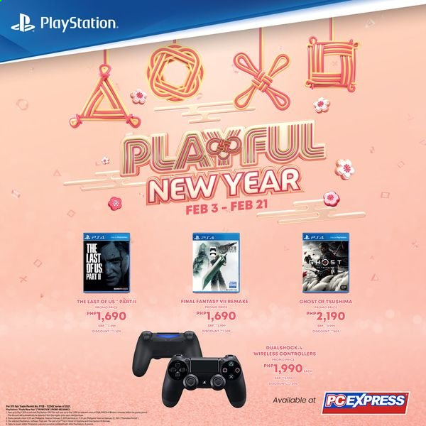 PC Express offer  - 3.2.2021 - 21.2.2021 - Sales products - PlayStation. Page 1.