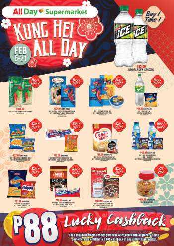 AllDay Supermarket offer  - 5.2.2021 - 21.2.2021.