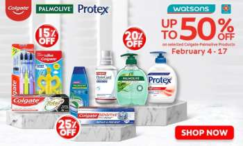 Watsons offer  - 4.2.2021 - 17.2.2021.